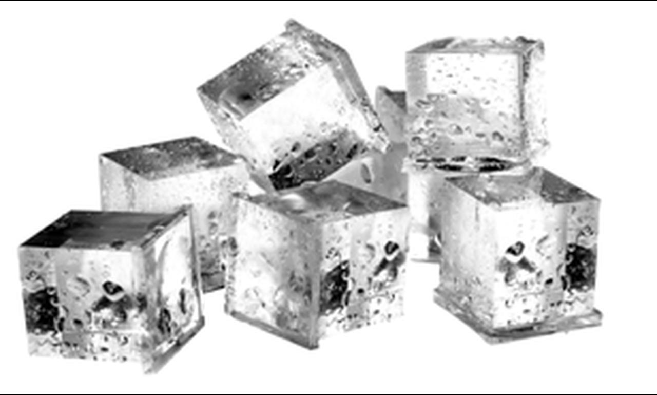 น้ำแข็งสี่เหลี่ยม